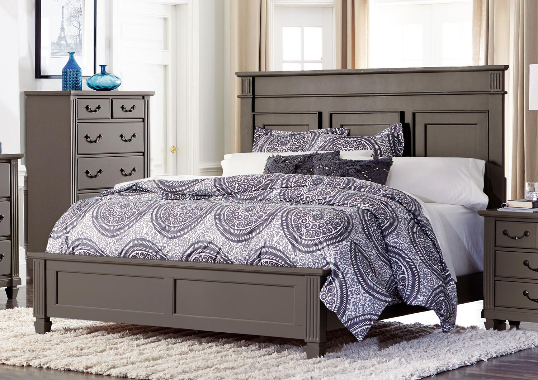 Homelegance Granbury Panel Bed - Grey Rub