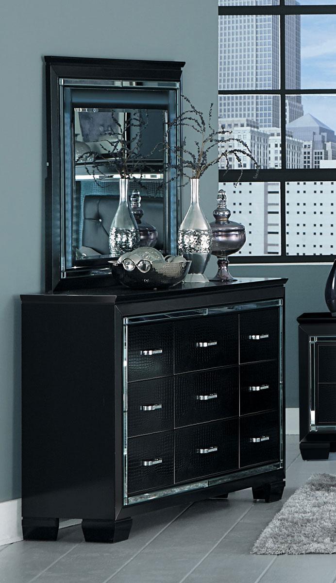 Homelegance Allura Dresser - Black