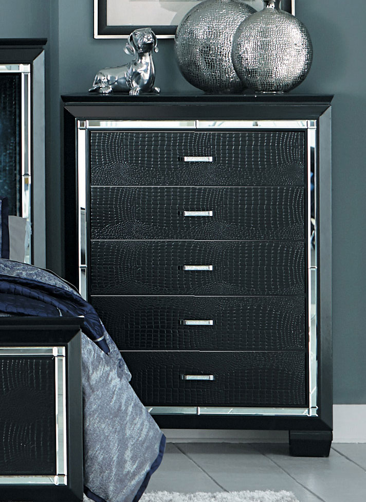Homelegance Allura Chest - Black