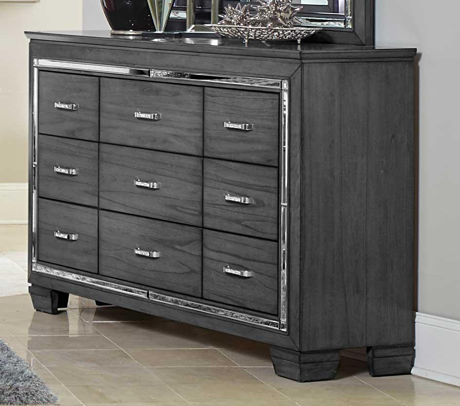 Homelegance Allura Dresser - Gray