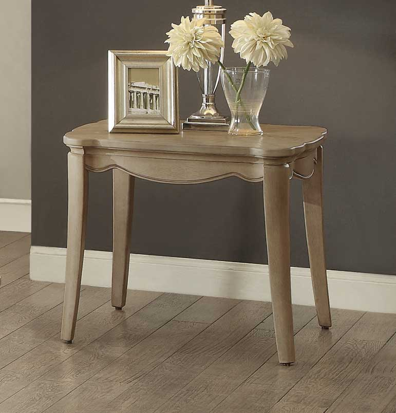 Homelegance Ashden End Table - Driftwood