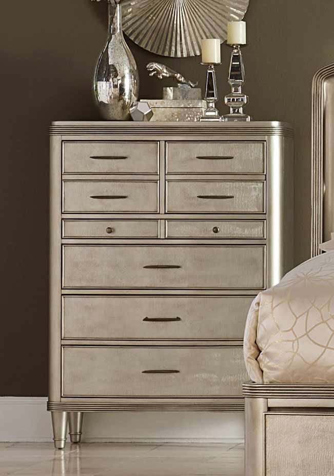 Homelegance Tandie Chest - Champagne
