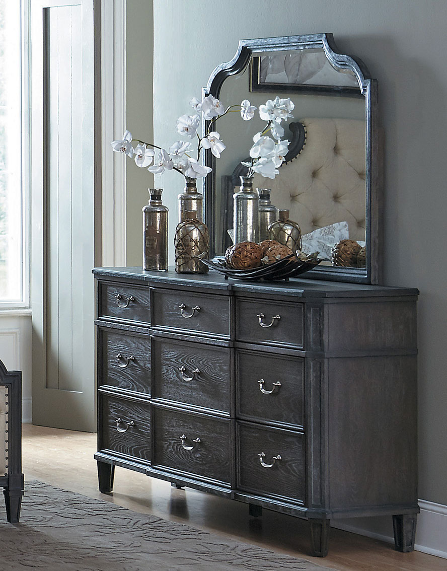 Homelegance Lindley Dresser - Dusty Gray