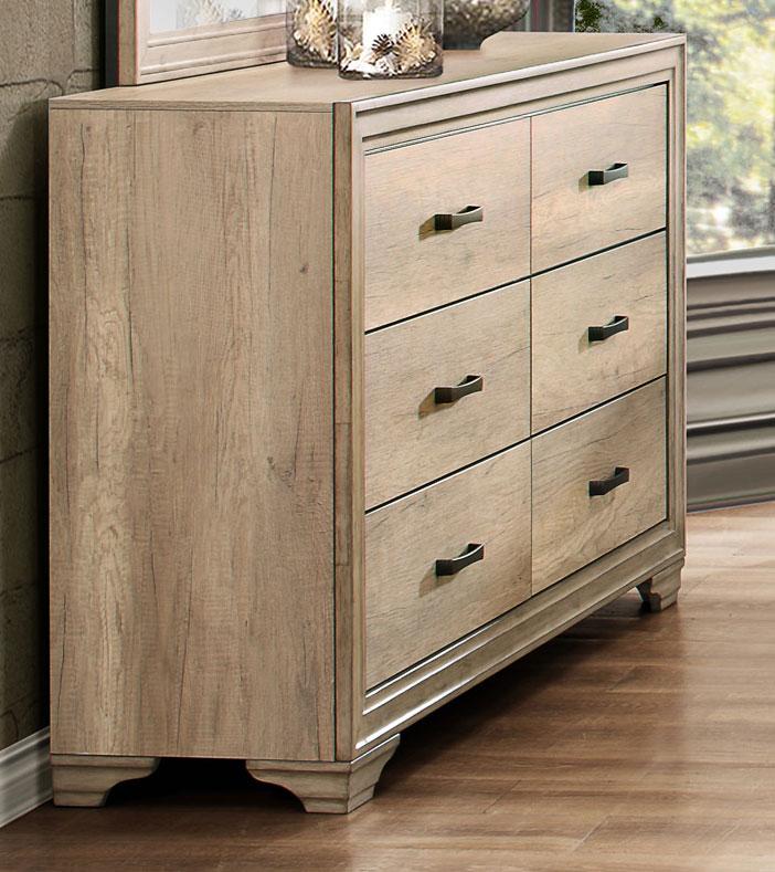 Homelegance Lonan Dresser - Weathered