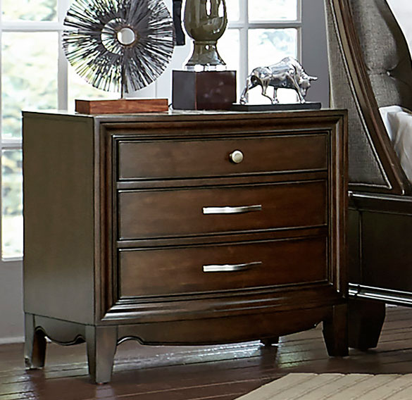 Homelegance Yorklyn Night Stand - Cherry