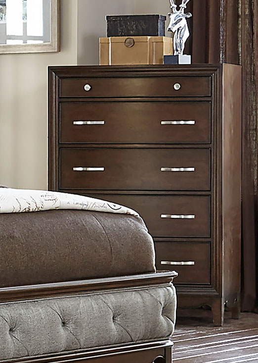 Homelegance Yorklyn Chest - Cherry
