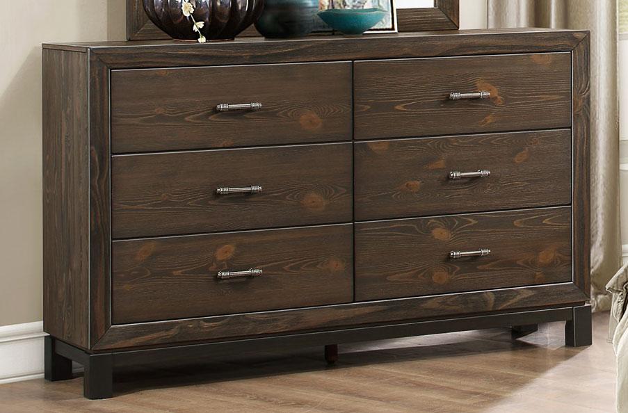 Homelegance Branton Dresser - Antique Brown
