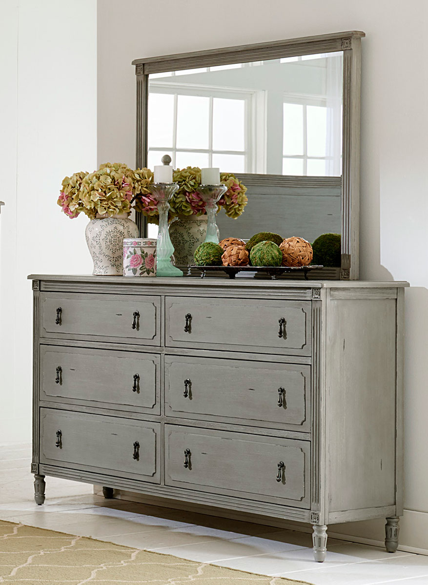 Homelegance Aviana Dresser - Antique Gray