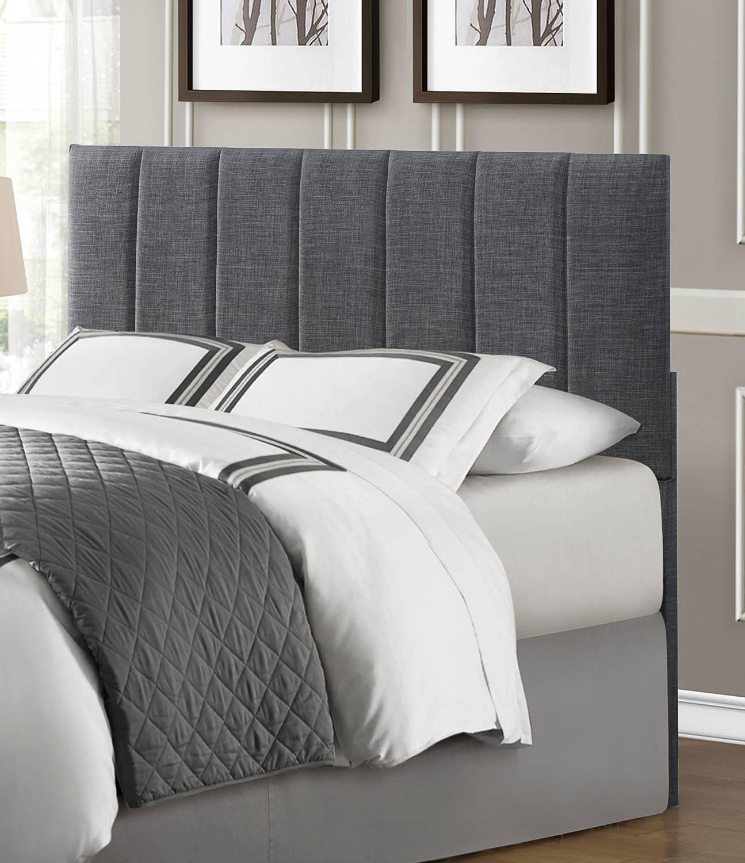 Fun Bedroom Chairs Bedroom Furniture Grey The Bedroom Bed Bedroom Vertical Blinds: Homelegance Portrero Upholstered Headboard