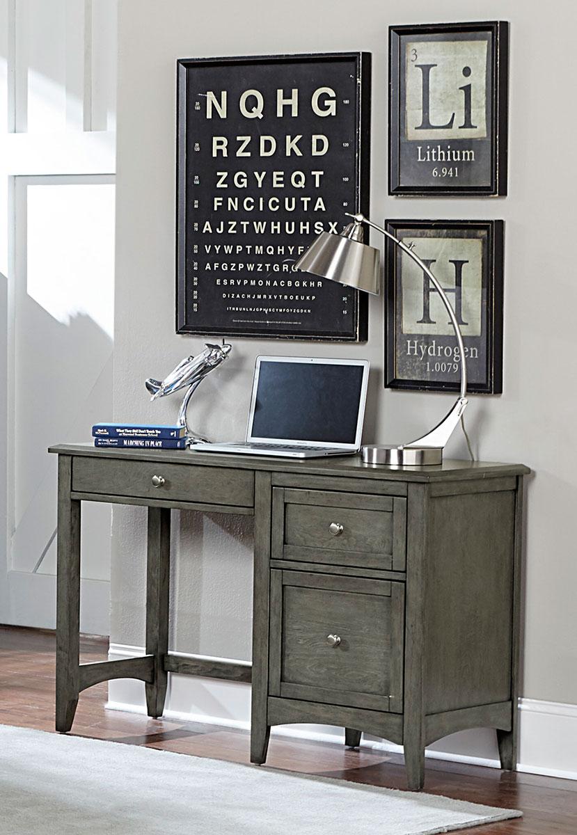 Homelegance Garcia Writing Desk - Gray