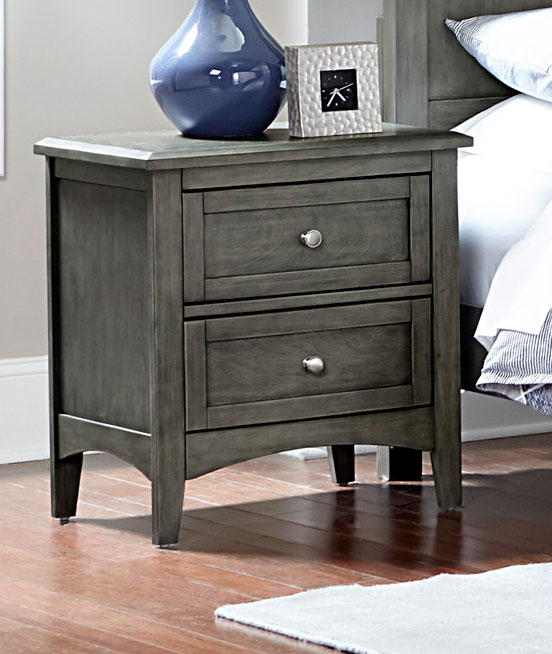Homelegance Garcia Night Stand - Gray