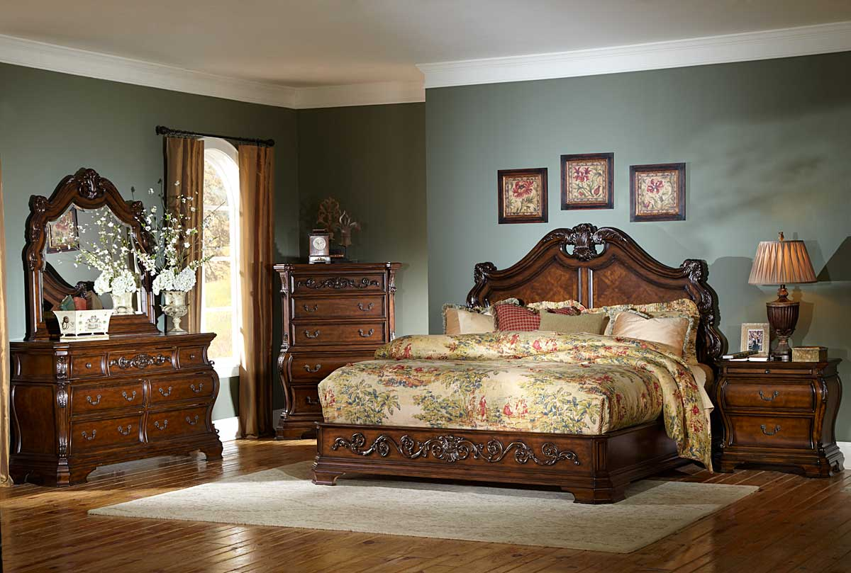 Antique Furniture Interior Design ~ Homelegance cromwell bedroom set b at homelement