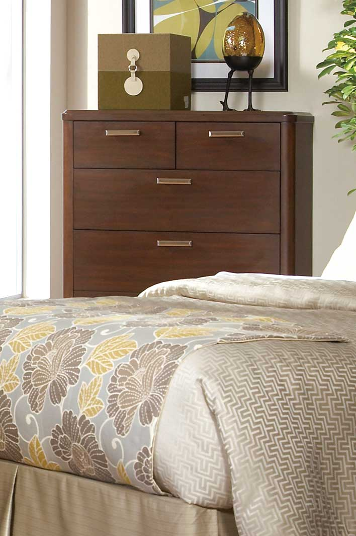 Homelegance Beaumont Chest - Brown Cherry