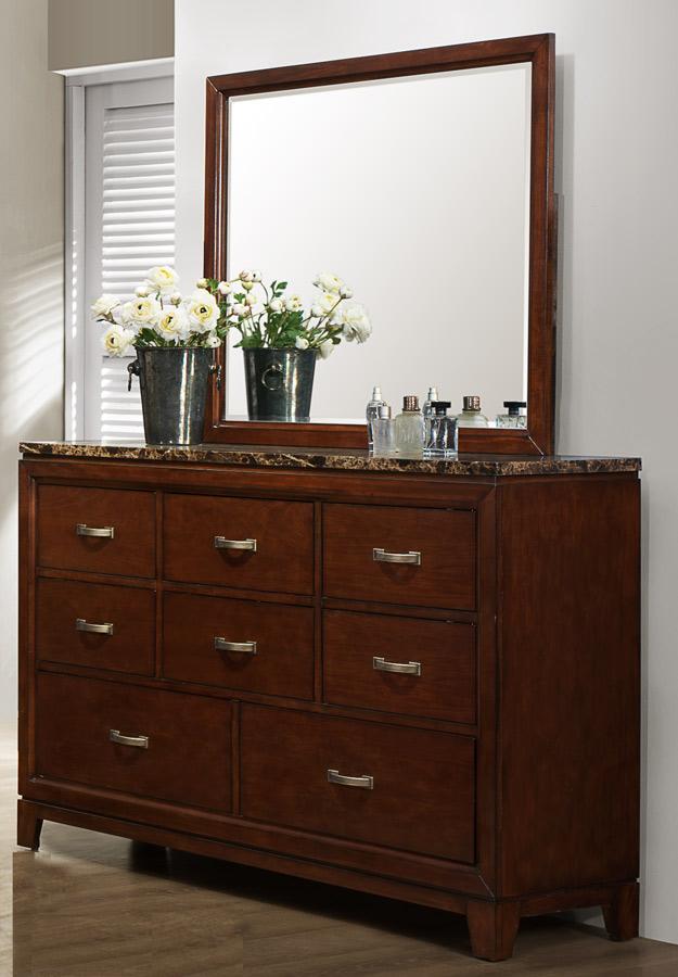 Homelegance Ottowa Dresser - Faux Marble Top