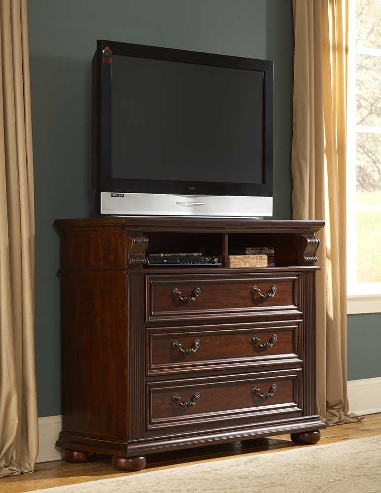 Silas TV Chest - Homelegance