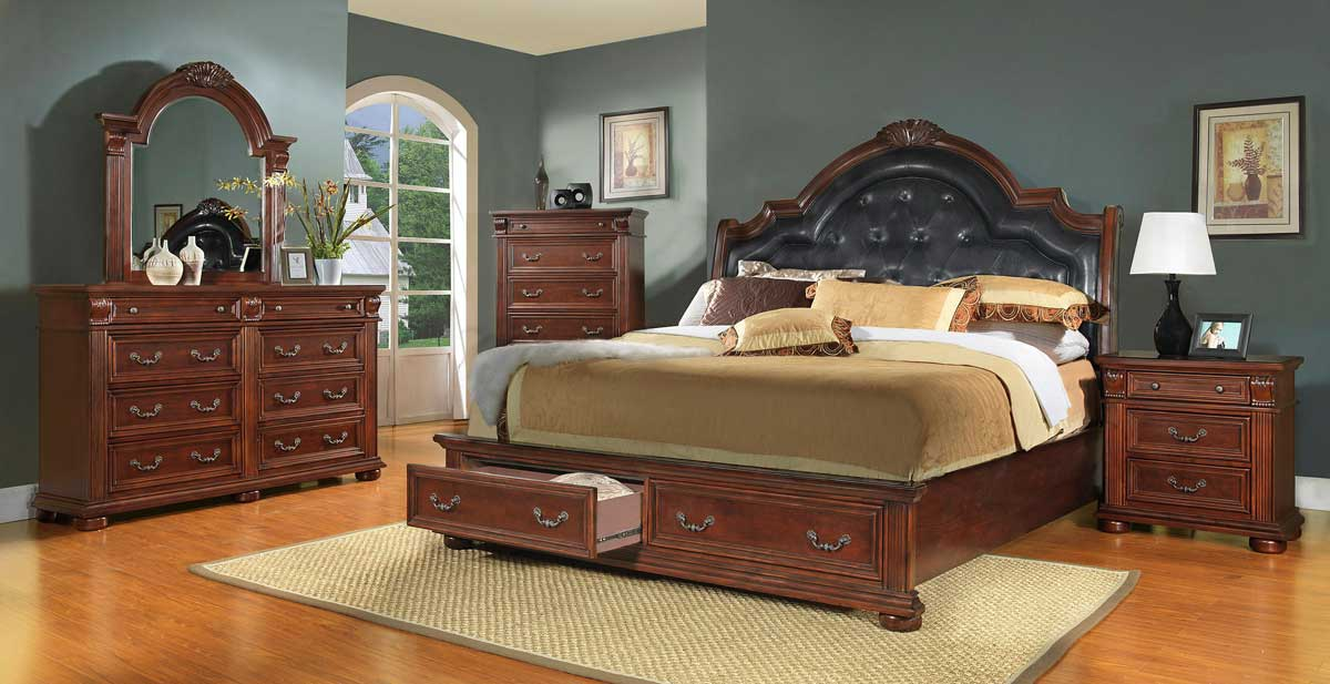 Homelegance Silas Sleigh Bedroom Set