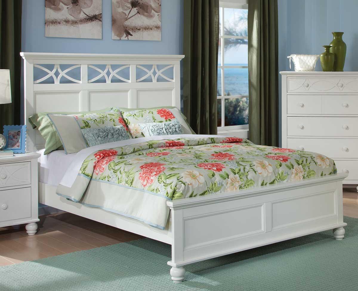 Homelegance Sanibel Bed - White