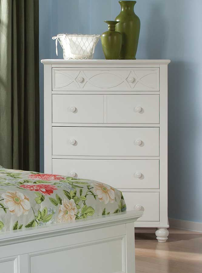 Homelegance Sanibel Chest - White