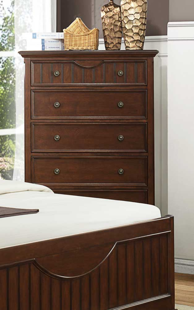 Homelegance Alyssa Chest - Cherry