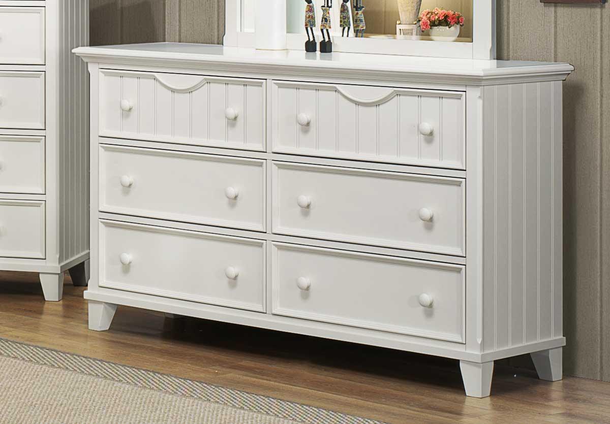 Homelegance Alyssa Dresser - White