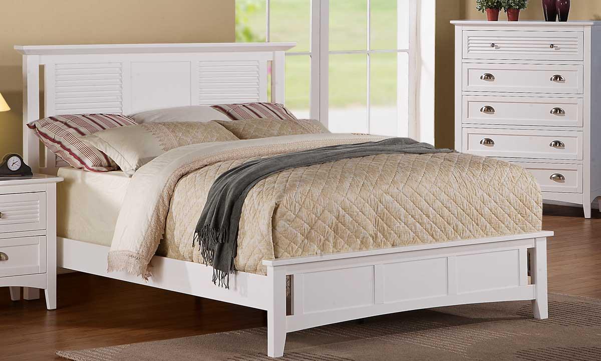 Homelegance Robinson Bed - White