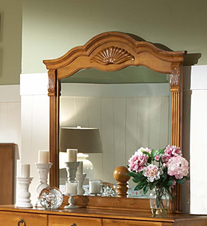 Homelegance Archdale Mirror - Pine