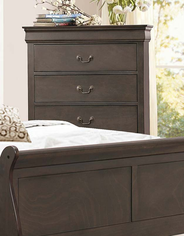 Homelegance Mayville Chest - Stained Grey