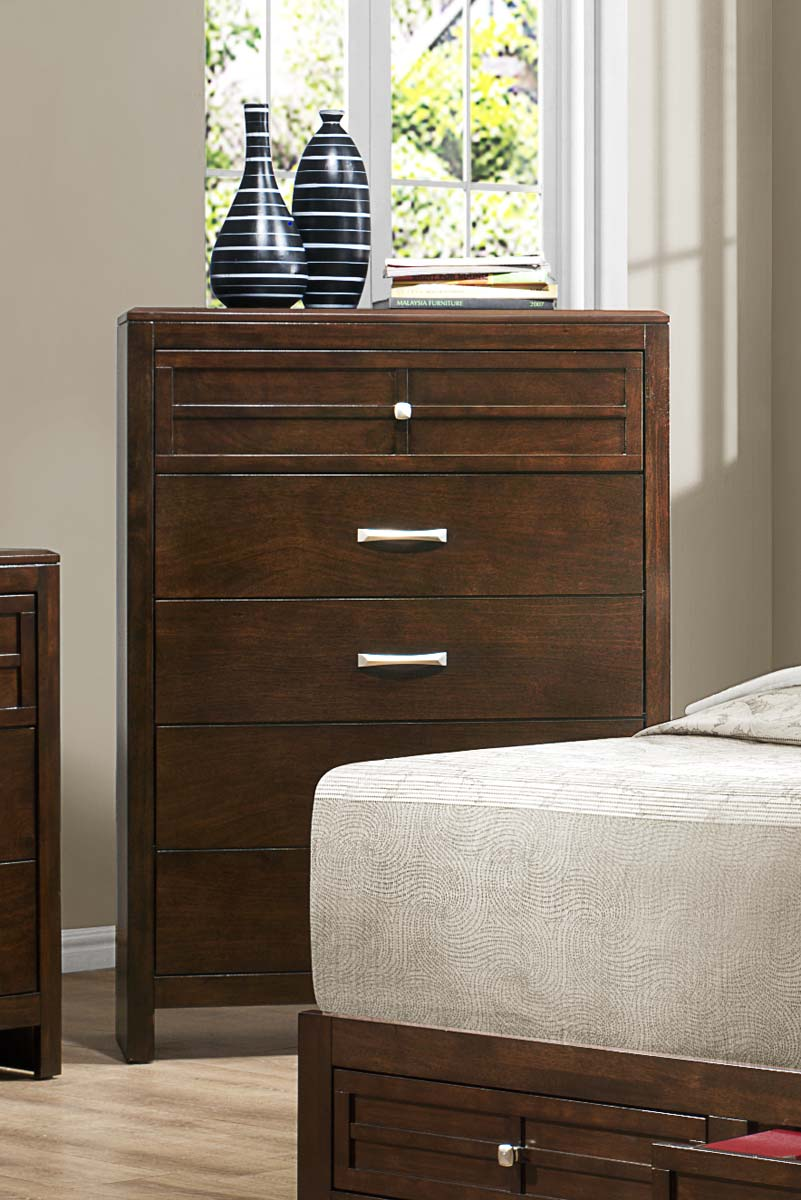 Homelegance Greenfield  Chest - Espresso