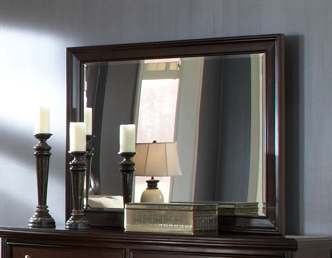 Homelegance Wrentham Mirror - Dark Brown