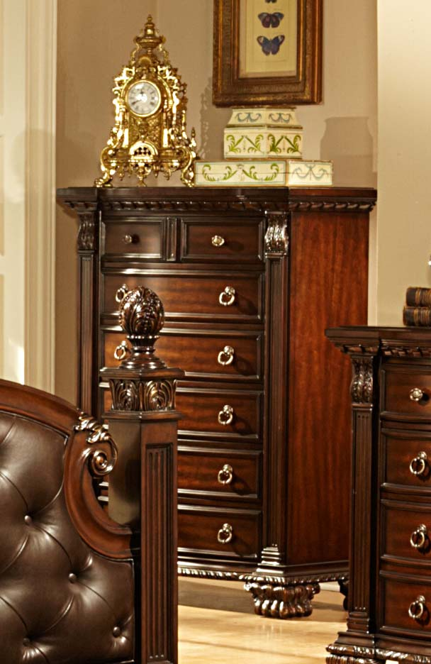 Homelegance Orleans Chest - Cherry