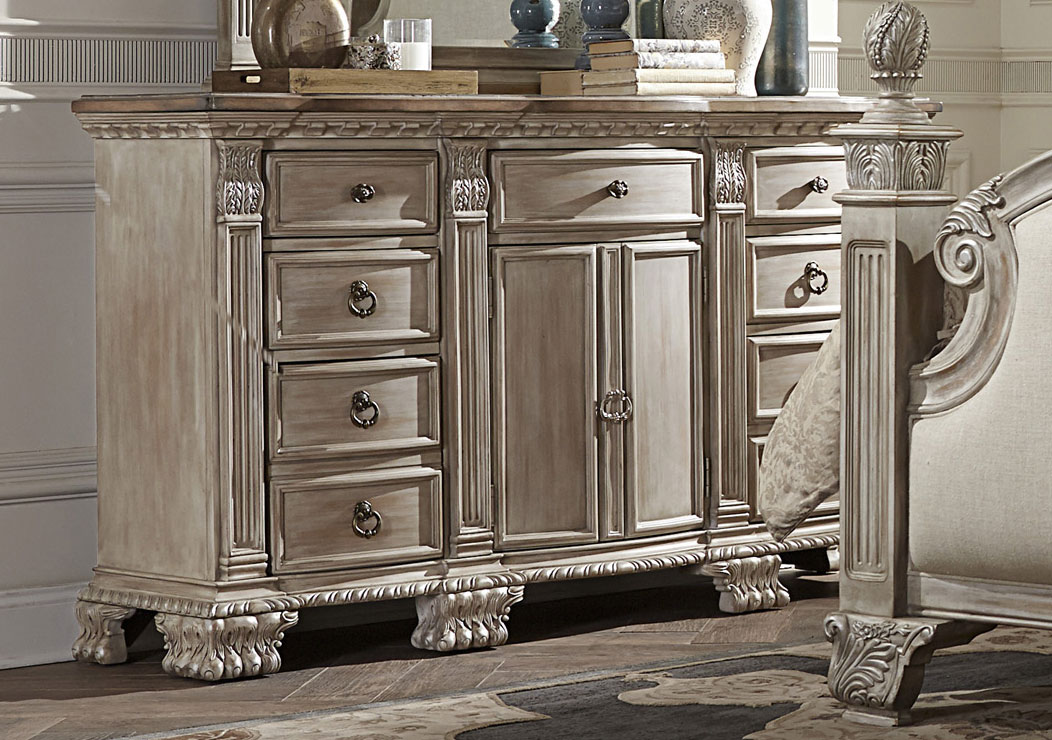 Homelegance Orleans II Dresser - White Wash
