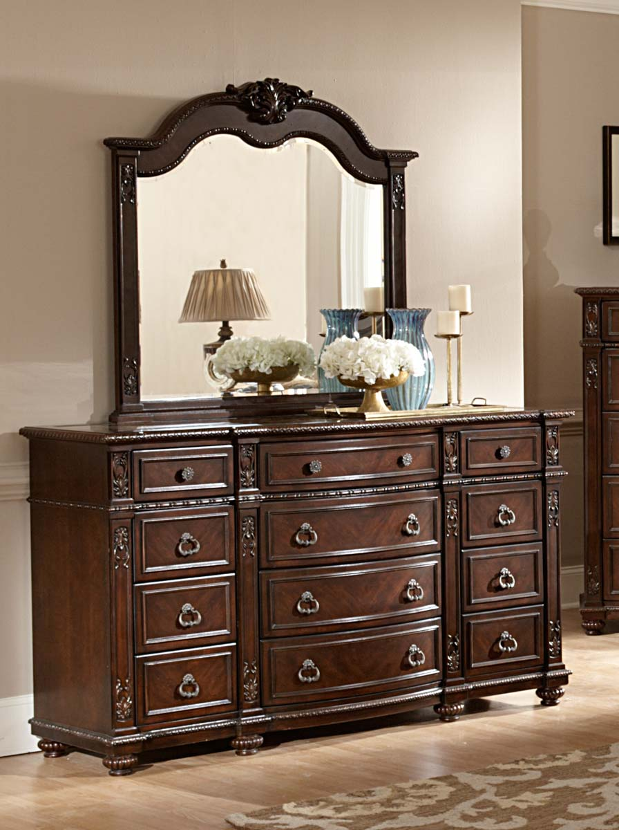 Homelegance Hillcrest Manor Dresser - Cherry