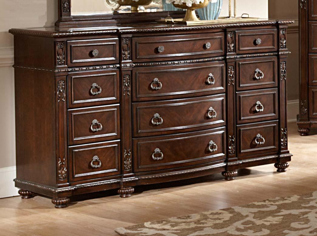 Homelegance Hillcrest Manor Dresser - Cherry