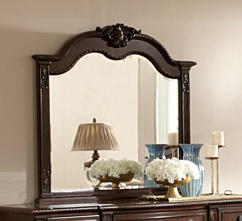 Homelegance Hillcrest Manor Mirror - Cherry
