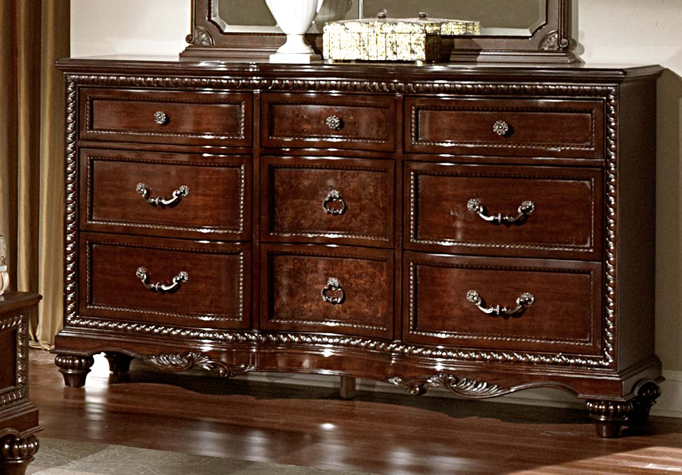 Homelegance Hampstead Court Dresser - Cherry