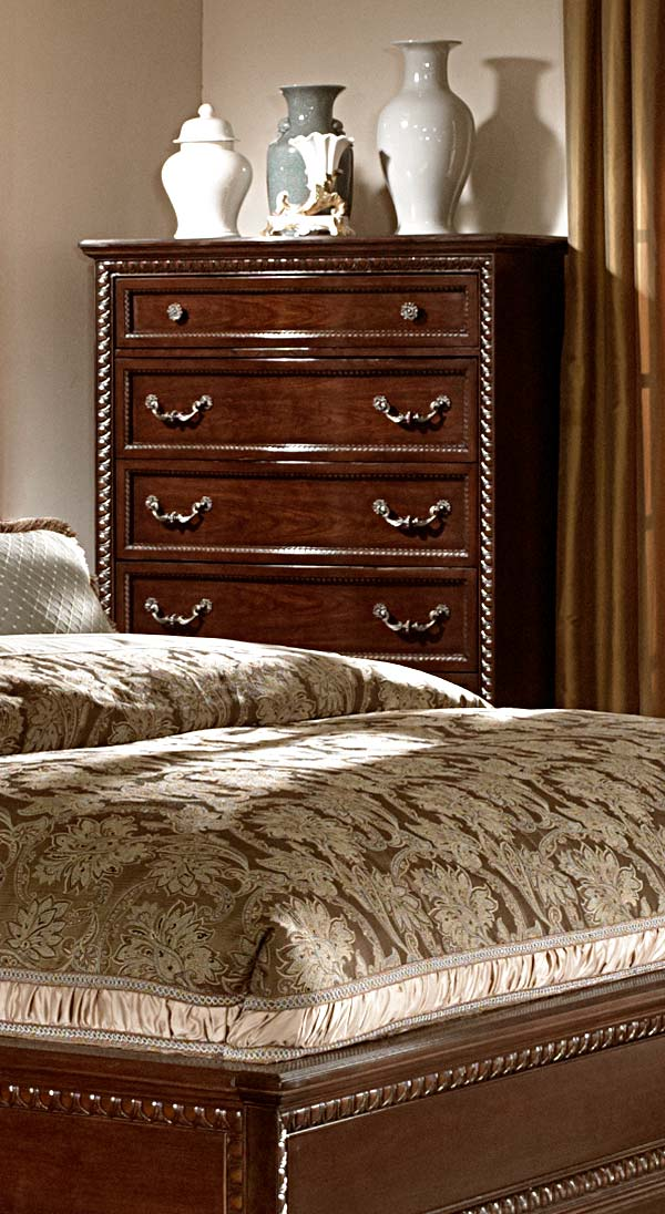 Homelegance Hampstead Court Chest - Cherry