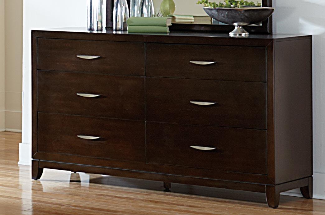Homelegance Starling Dresser - Dark Cherry