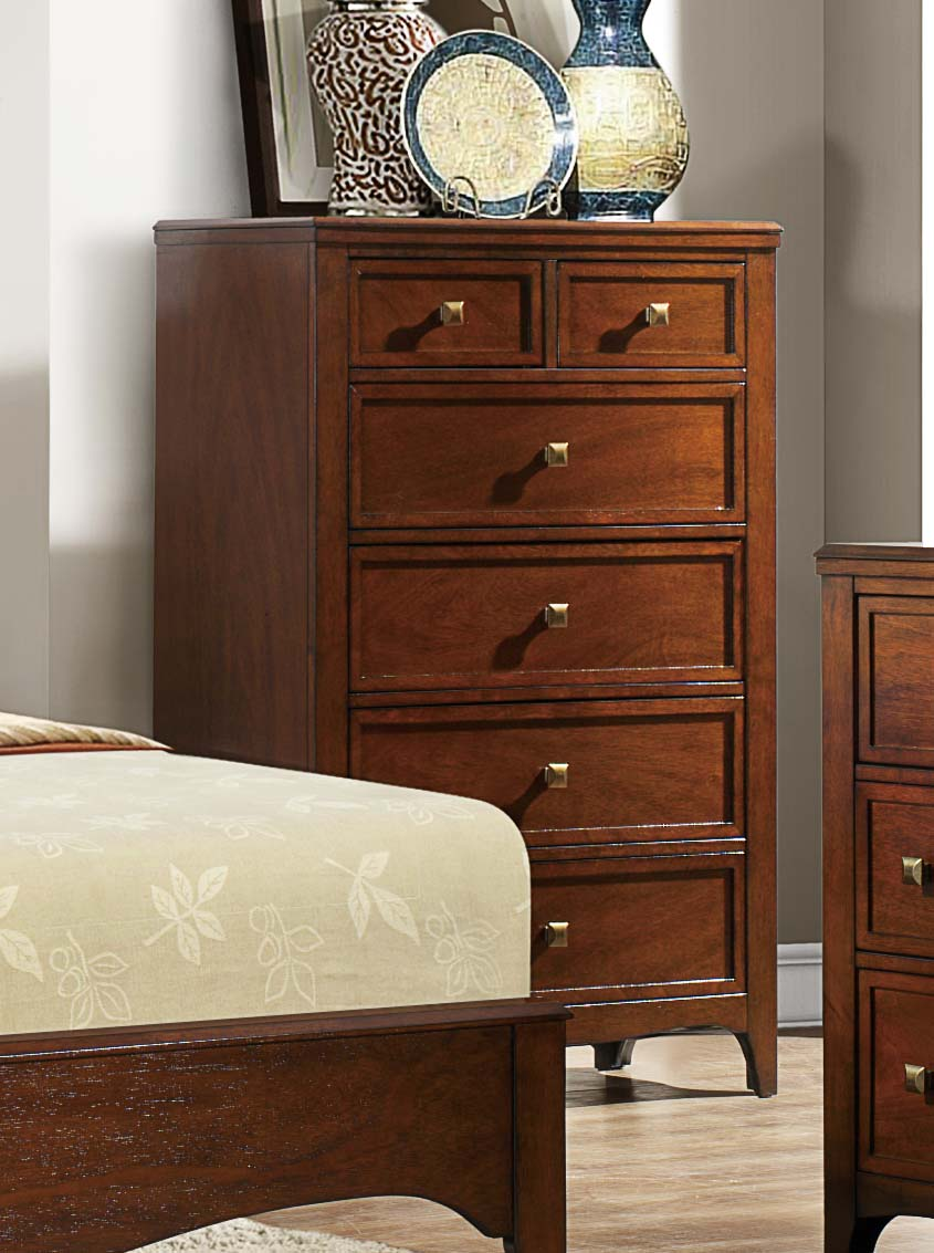 Homelegance Verity Chest - Cherry