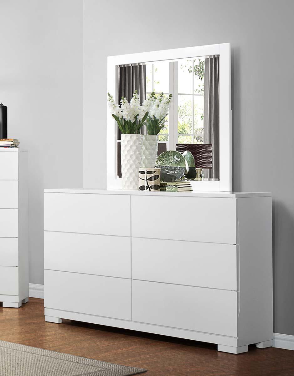 Homelegance Galva Dresser - Bright White