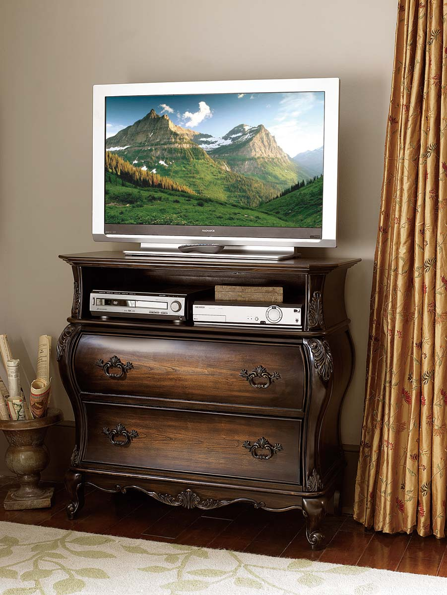 Homelegance Bayard Park TV Chest - Cherry