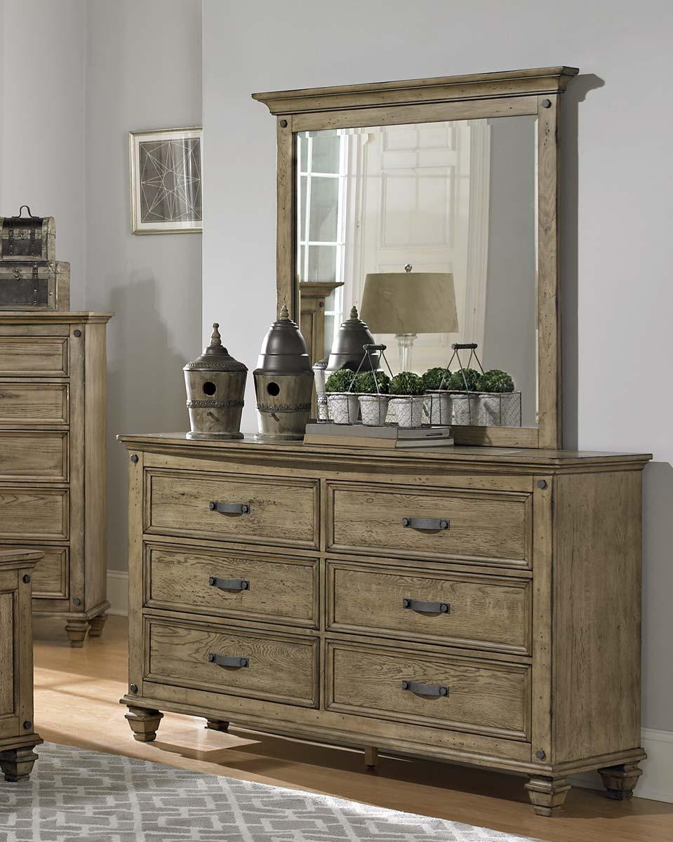 Homelegance Sylvania Dresser - Driftwood Oak