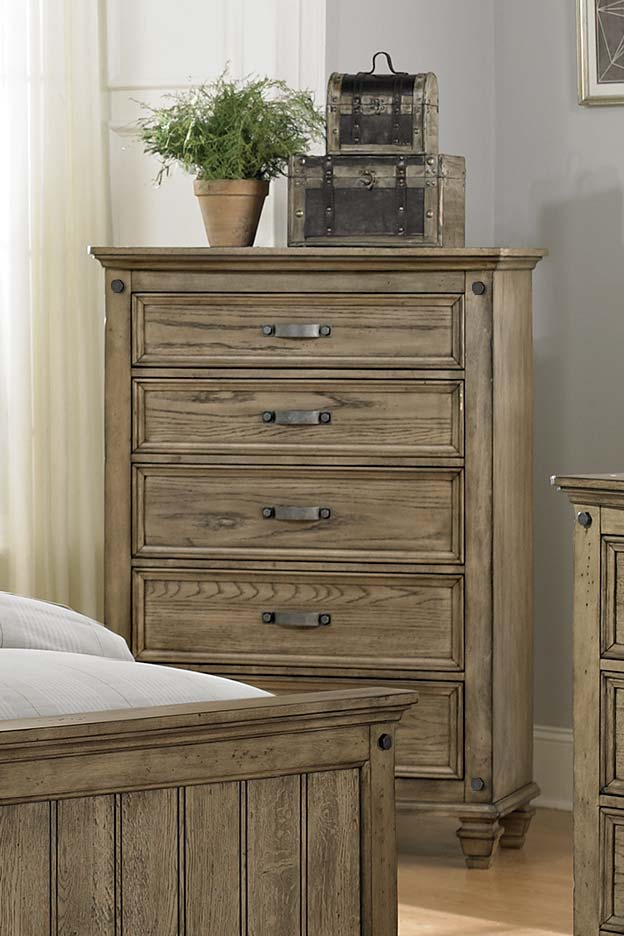 Homelegance Sylvania Chest - Driftwood Oak