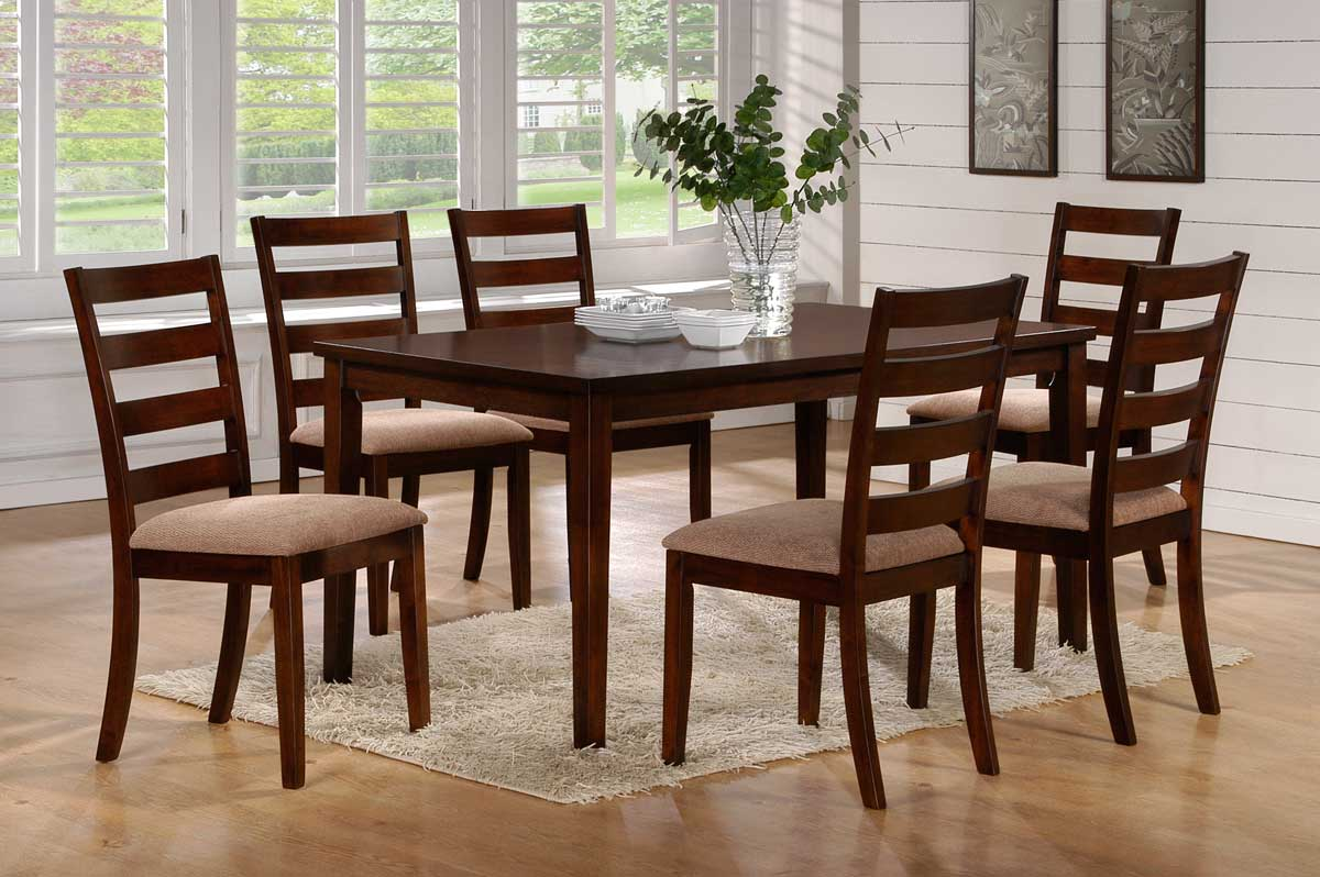 Homelegance Hale Dining Set C - Walnut