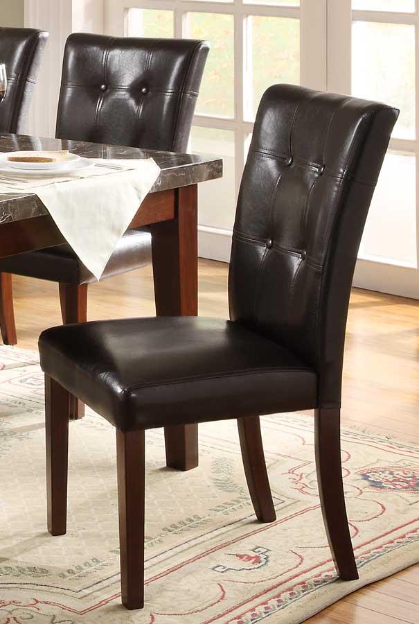 Homelegance Decatur Side Chair - Rich Cherry