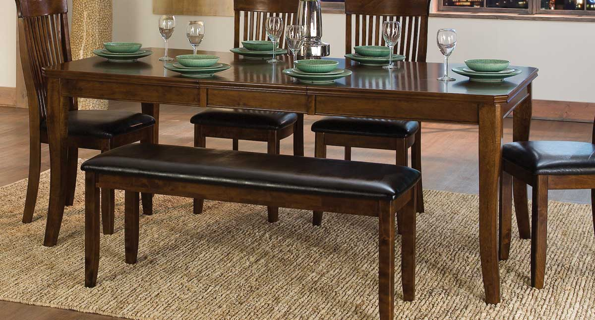 Homelegance Alita Dining Table - Warm Cherry