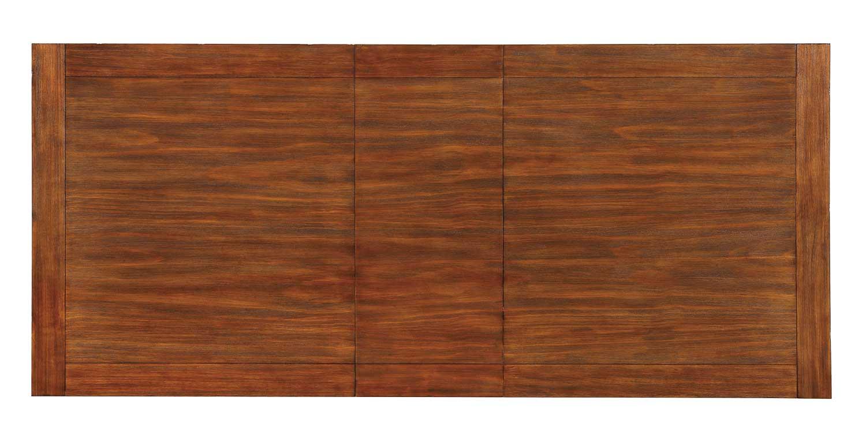 Homelegance Marie Louise Dining Table - Rustic Oak Brown