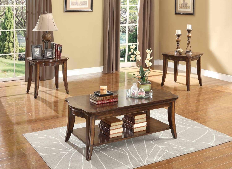 Homelegance Keegan 3-Piece Occasional Tables 2546-31