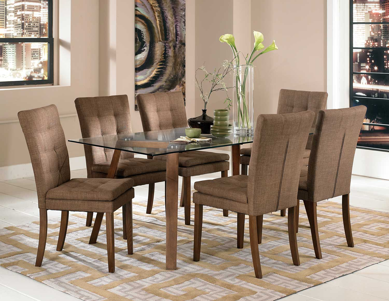 Homelegance Maitland Dining Set