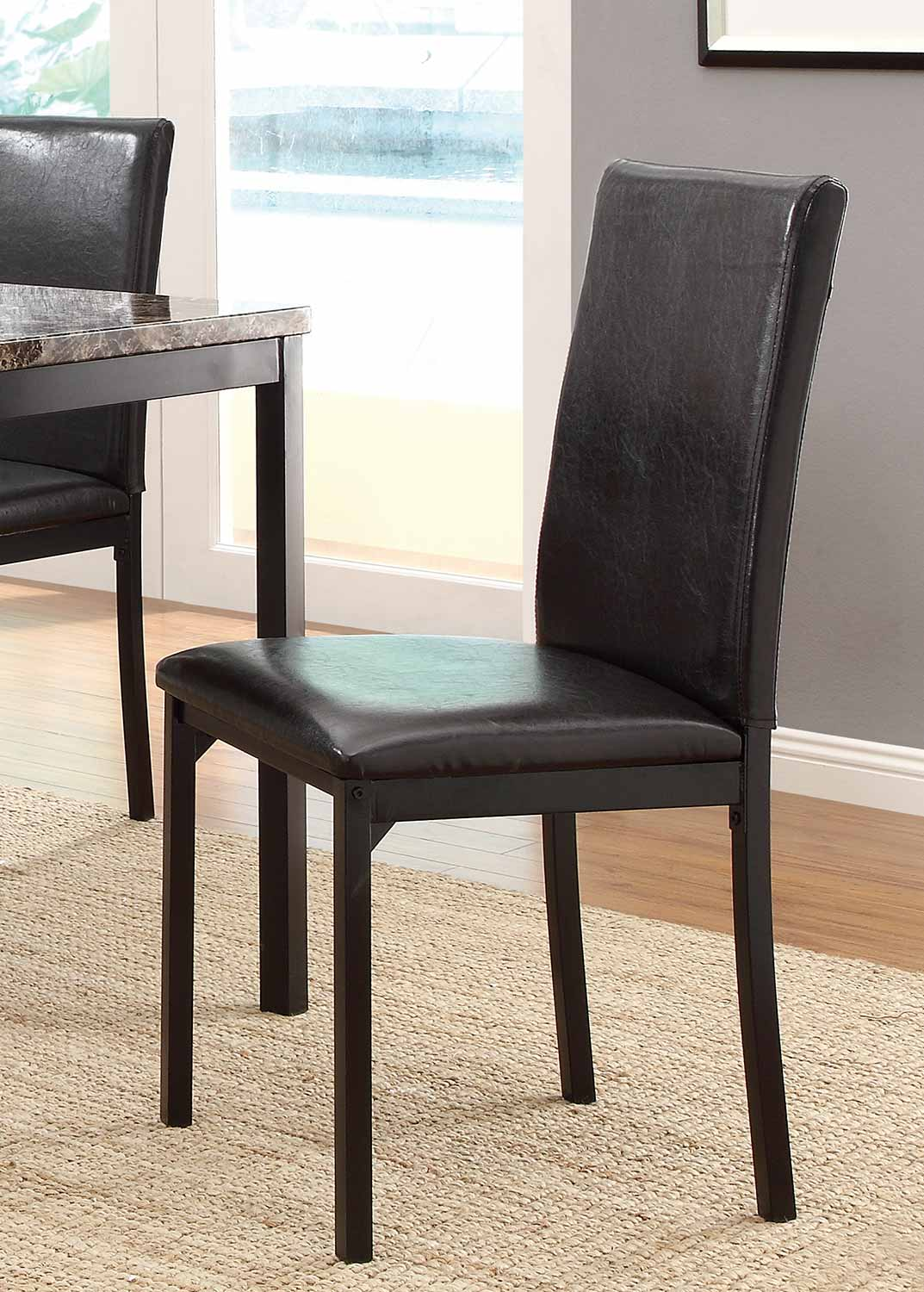 Homelegance Tempe Counter Height Chair - Black Metal