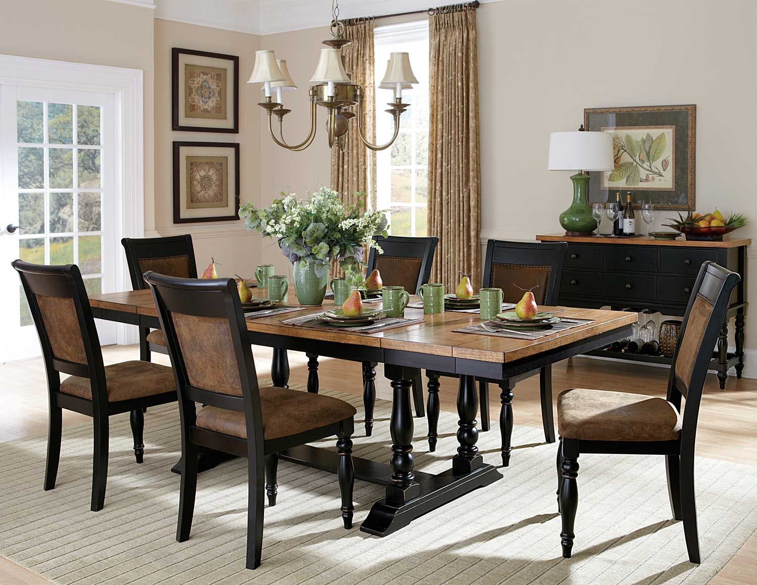 Homelegance Grisoni Dining Set